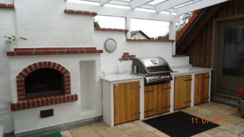 Outdoorküche Mit Holzbackofen : Outdoorküchen kamine und ofenstudio baumgartner paldau und gnas
